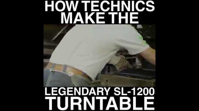 How technics turntable 1200 are made