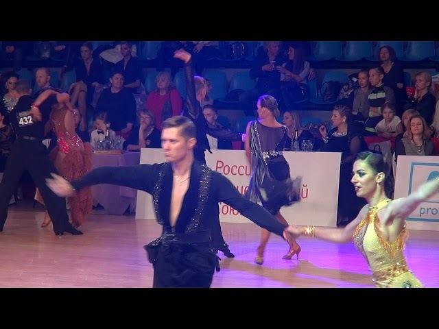 Колебакин Илья - Тулупова Анастасия, 1/4 C , Moscow Dance Festival 2017