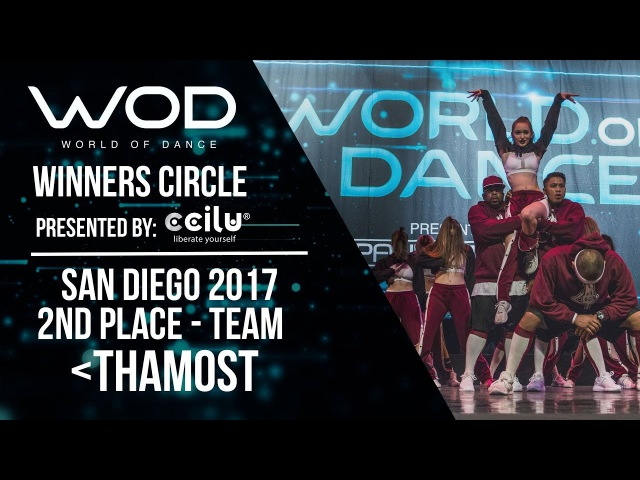 ThaMost | 2nd Place Team Division | Winner's Circle | World of Dance San Diego 2017 | WODSD17