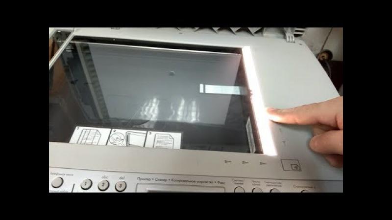 HP LJ 3055 | Ошибка сканера 5 | Scaner error