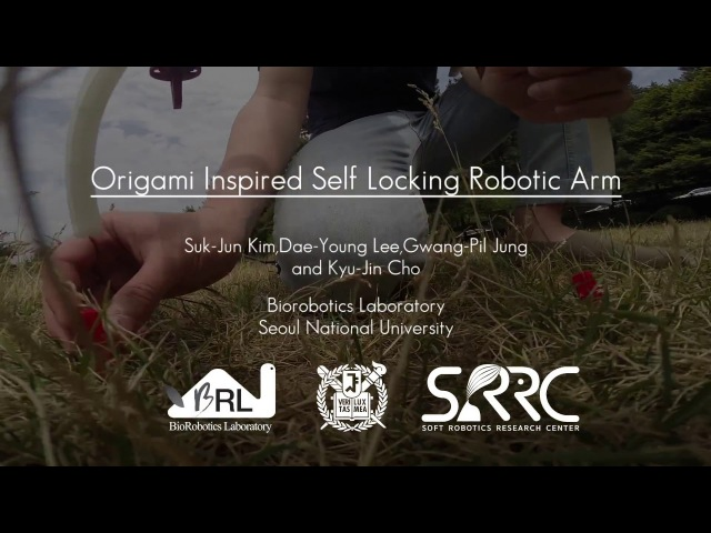 Origami Inspired Foldable Robotic Arm (Inspector Gadget Arm)