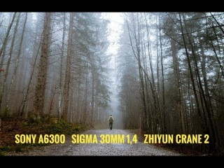 Slovakia winter Sony a6300 SIGMA 30 mm f/1,4 Zhiyun Crane 2 winter