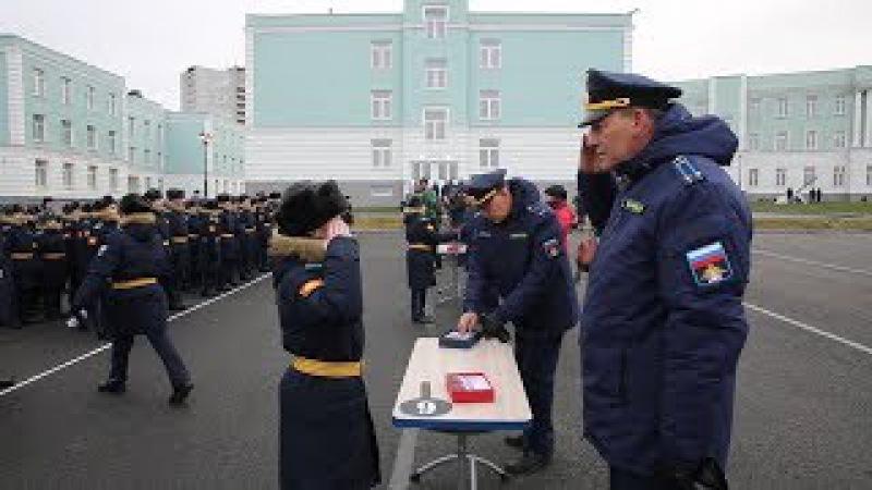 Воспитанники Президентского кадетского училища в Петрозаводске дали клятву ка ...
