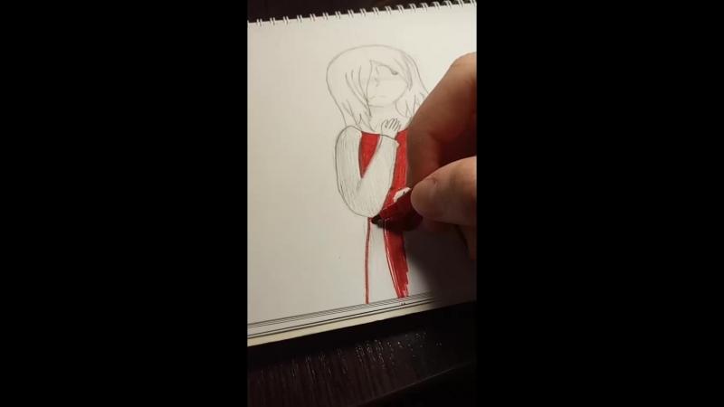 Рисую от руки (Рукапопие:D)