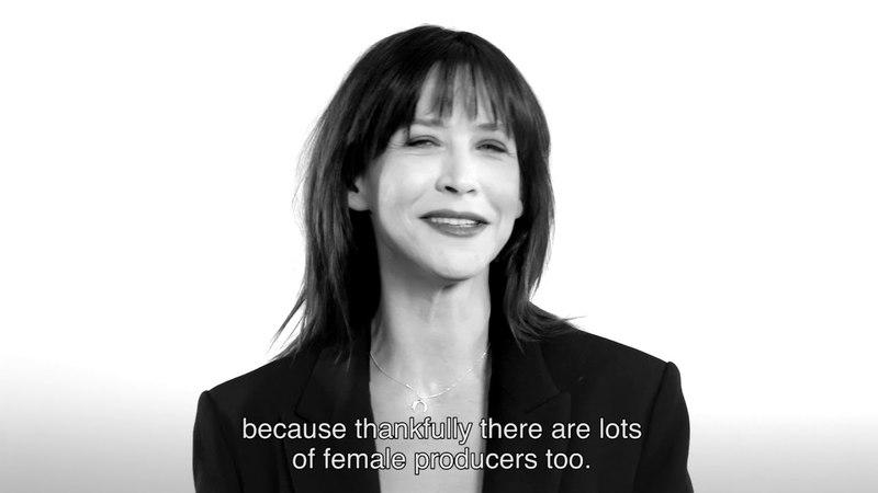 19 réalisatrices contre le sexisme le témoignage de Sophie Marceau