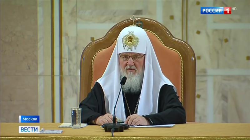 Репортаж телеканала Россия 1 о VII Общецерковном съезде по социальному служению