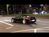 STRAIGHT PIPED Carrera GT 'drive like you stole it'! Crazy powerslide and sounds in the city