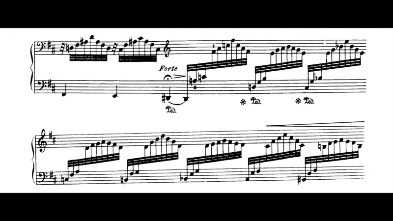 Jean Sibelius - 5 Pieces for piano, op.75 no.5 The Spruce (w-sheet)