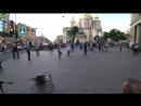 Железный Ирокез Live- Хэй  уличные музыканты  Питер