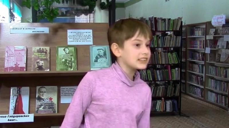 Данила Резнов читает стихотворение Ирины Иванниковой Оля, 2018