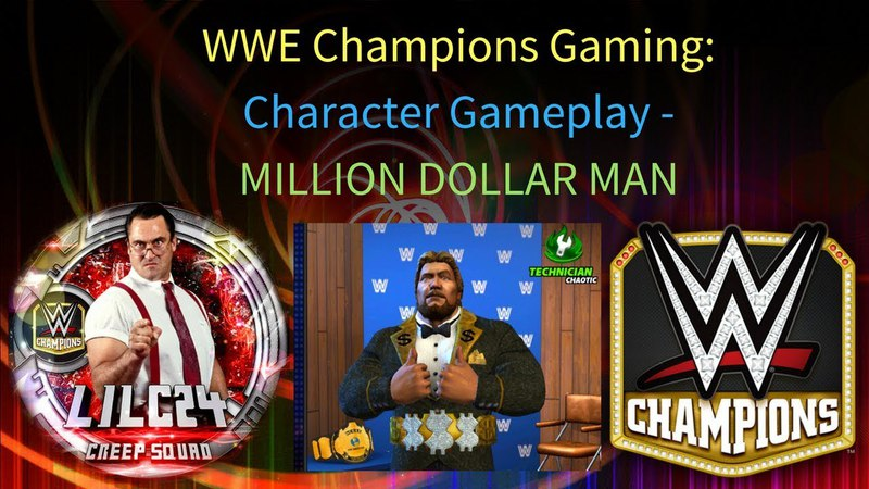 WWE Champions Character Gameplay- Ted Dibiase Loot Box Madness