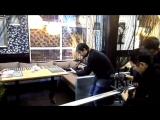 Завершающий этап съемок клипа Андрея Таныча на песню
