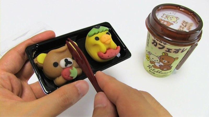 Rilakkuma Japan Sweets Wagashi Nerikiri