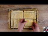 Закусочный наполеон с сыром. Как приготовить - Вкусные закуски