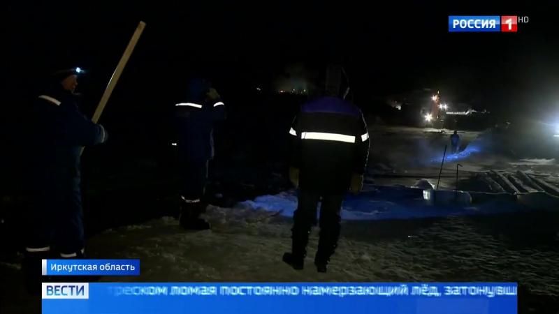 На реке Лене развернулась операция по подъему затонувшей техники - Россия 24