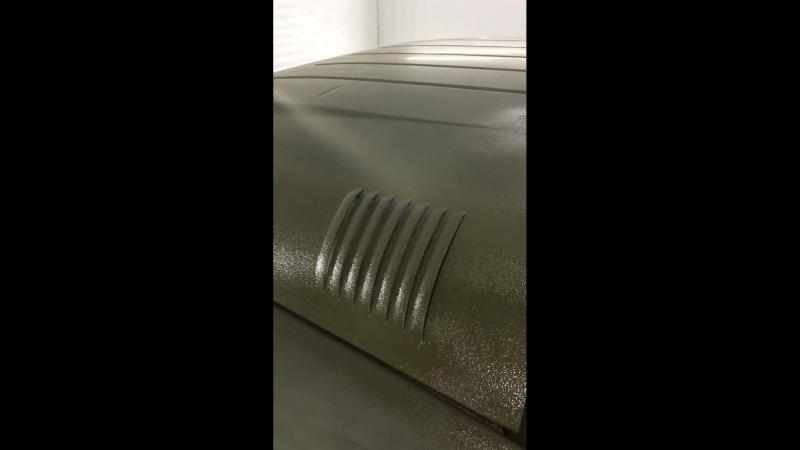 Покраска УАЗа Раптором