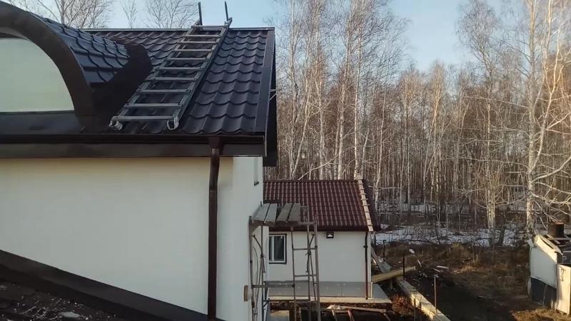 Монтаж 3G антенны в деревне Мостовка Тюменского района (по дороге в Нижнюю Тавду)