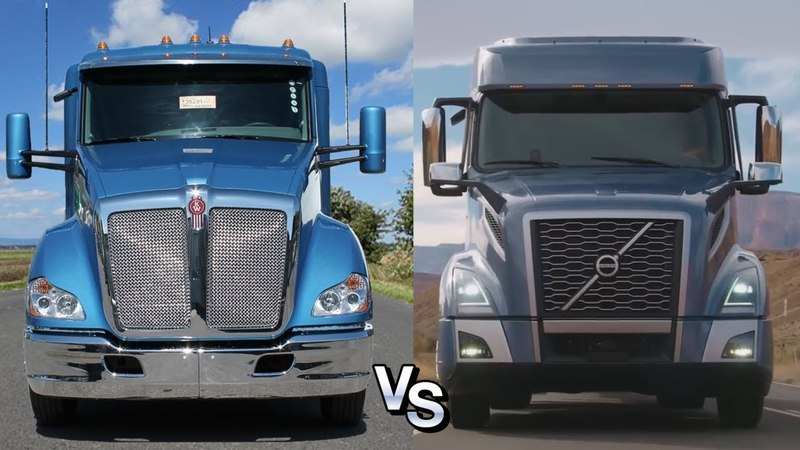 Войны грузовиков: Volvo VNL 760 vs Kenworth T680 Advantage