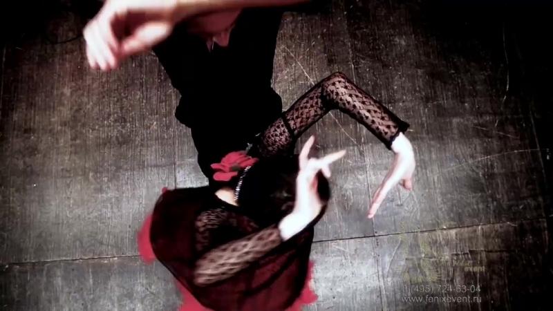 Заказать испанское шоу фламенко на праздник и свадьбу в Москве