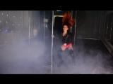 Exotic pole dance выступление отчетный концерт Black Shark новый год связка танец