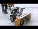 Снегоуборщик STIGA Snow Fox - легко и быстро справится с очисткой от снега обширных участков