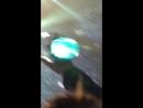 Тэмин на воздушном шаре во время концерта