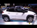 2019 Hyundai Kona Elecric Exterior and Interior Walkaround Debut at 2018 Geneva Motor Show