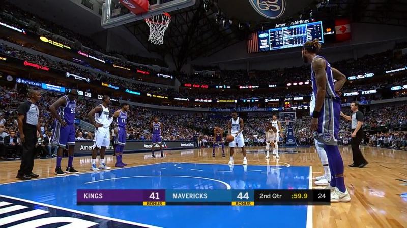 NBA 2017-2018 / Regular Season / Dallas Mavericks vs Sacramento Kings / 20.10.2017
