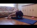 SLs Уроки художественной гимнастики __ Растяжка спины __ Как растянуть спину