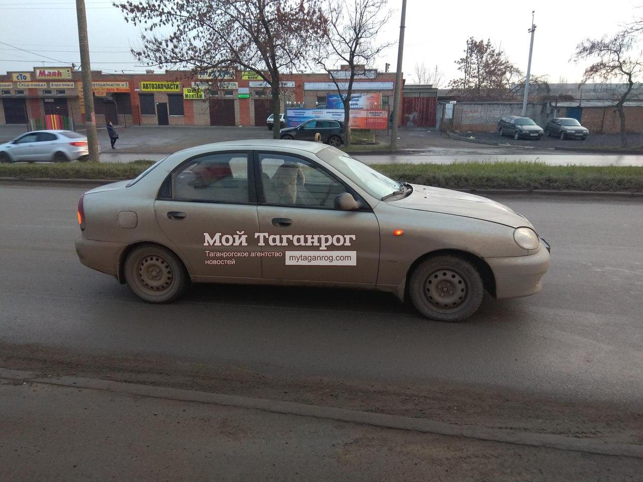 В Таганроге автоледи на Chevrolet Lanos сбила 50-летнюю женщину