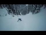 Видео со съемок сноубордического фильма