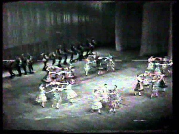 Государственный Академический Хореографический Ансамбль Березка. Концерт (зима,1978г)