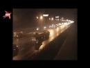 Авария с каршериговым авто на МКАД попала на видео