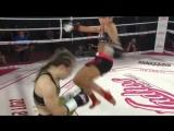Суровый нокаут из Польши. Ladies Fight Night 9 Tic Tac Toe.