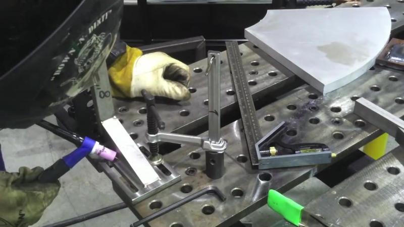 Tig Welding Stainless Steel -The Slider