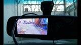 Автомобильное зеркало с камерой заднего вида