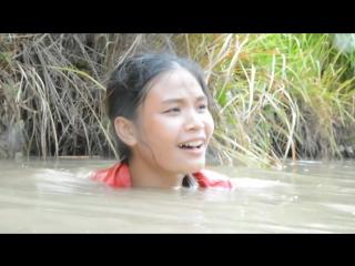 Wow!Beautiful girl Fishing at battambang-Pailn - How to catches Fish-Part 34