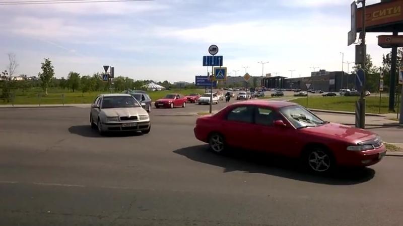 автопробег в день пограничника г.Могилев