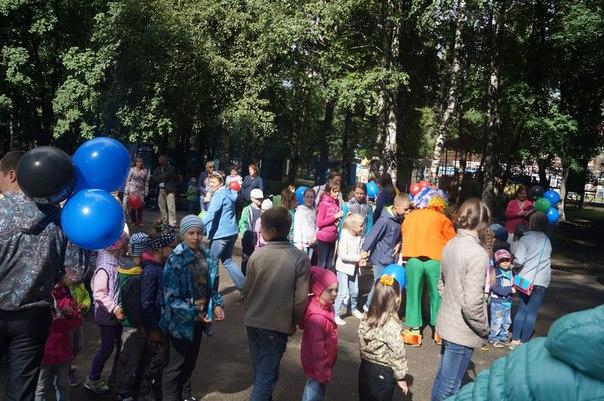 Фестиваль подвижных игр в г. Вологда.  Друзья, Банк Русский Стандарт