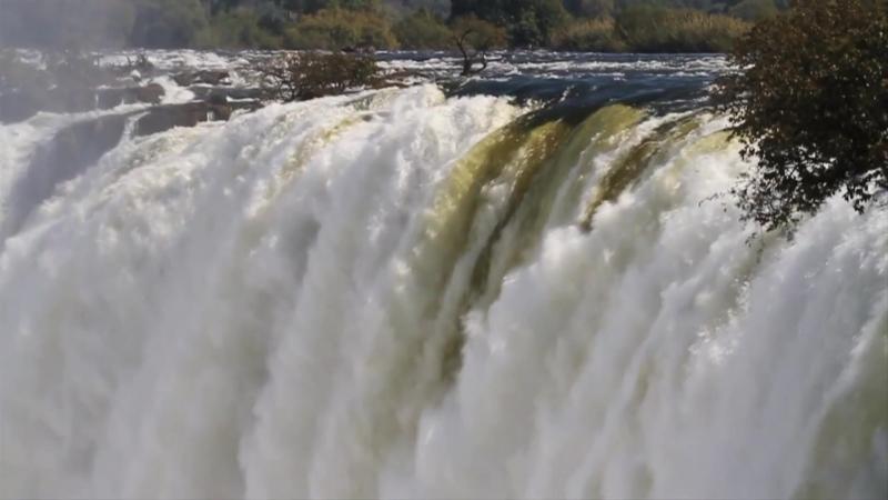 Водопад ВИКТОРИЯ Victoria Falls. Legendary waterfall.