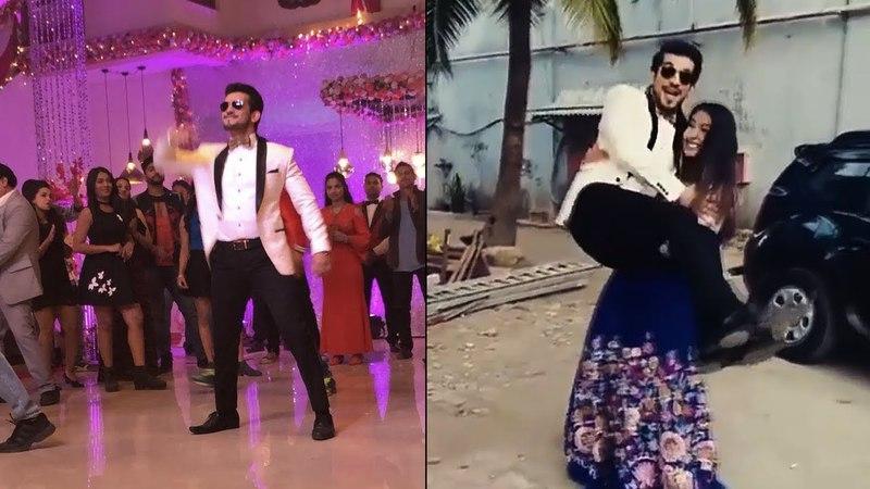 Arjun Bijlani Avika Gor Dance Performance | Swag se karenge Sabka Swagat | Color Tv