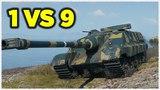 AMX 50 Foch B • ОДИН ПРОТИВ ДЕВЯТИ • Такой бой бывает раз в жизни!