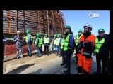 24.04.2018  Сосновый Бор посетили руководители строительных компаний Финляндии
