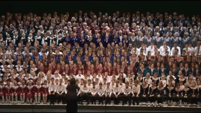 9 мая 2014г. Праздник песни ЖИВАЯ НИТЬ ВРЕМЁН Мариинский-2