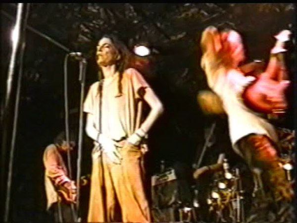 Patti Smith 1997 CBGBs part4