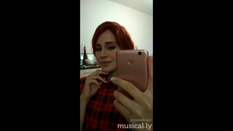Triss Merigold. Makeup test