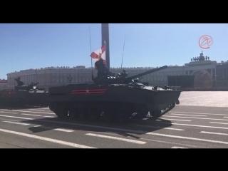 Фрагмент генеральной репетиции Парада Победы