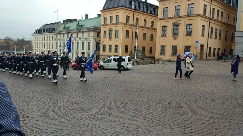 Смена караула Стокгольм