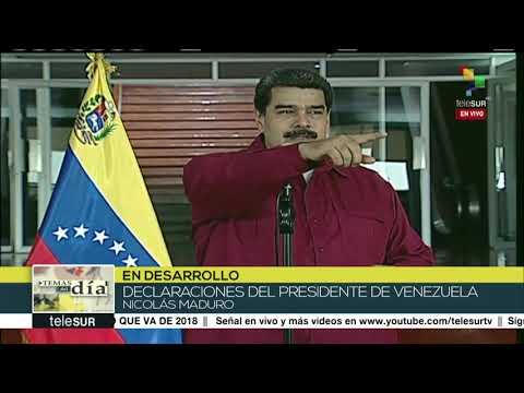 Venezuela: destaca Nicolás Maduro golpe al contrabando de bolívares
