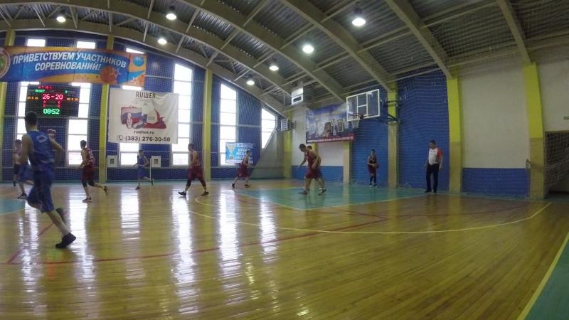 Юниор-Алтай баскет 3 период начало
